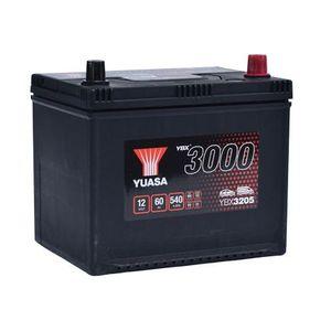 YBX3205 Yuasa SMF Car Battery 12V 60Ah