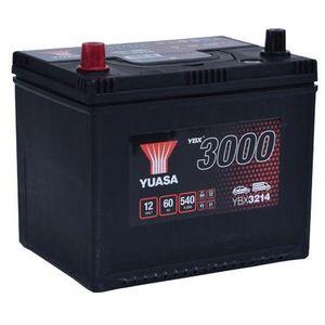 YBX3214 Yuasa SMF Car Battery 12V 60Ah