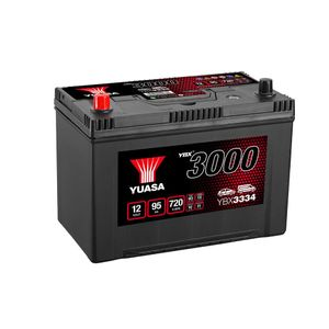 YBX3334 Yuasa SMF Car Battery 12V 95Ah