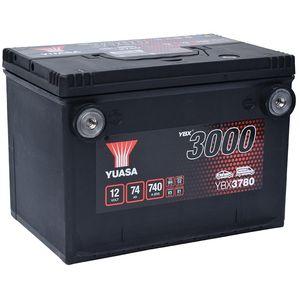 YBX3780 Yuasa SMF Car Battery 12V 74Ah