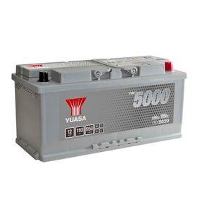 YBX5020 Yuasa Silver High Performance Car Battery 12V 110Ah HSB020