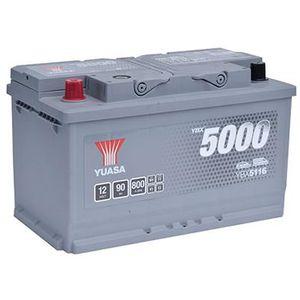 YBX5116 Yuasa Silver High Performance Car Battery 12V 90Ah