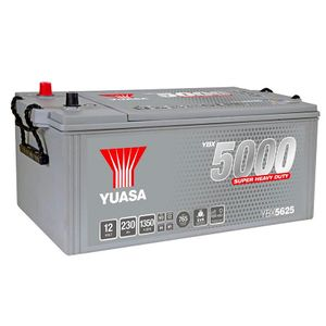 725GM Yuasa Cargo Deep Cycle GM Battery 12V 230Ah YBX5625