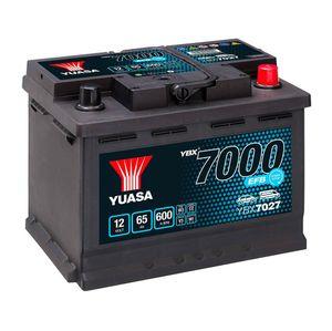 YBX7027 Yuasa EFB Start Stop Car Battery 12V 65Ah