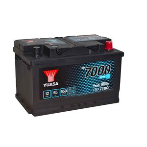 YBX7100 Yuasa EFB Start Stop Car Battery 12V 65Ah