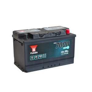 YBX7115 Yuasa EFB Start Stop Car Battery 12V 85Ah