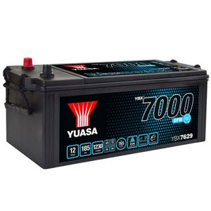 YBX7629 Yuasa EFB Start Stop Commercial Vehicle Battery 12V 185Ah