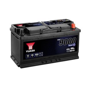 YBX9019 Yuasa AGM Start Stop Car Battery 12V 95Ah
