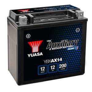 YBXAX14 Yuasa Auxiliary Car Battery 12V 12Ah