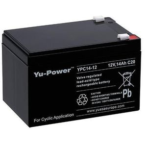 Yuasa YPC14-12 Cyclic VRLA Battery 12V 14Ah