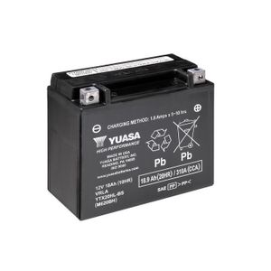 Yuasa YTX20HL-BS High Performance MF Motorcycle Battery