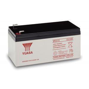 Yuasa NP2.8-12 Valve Regulated Lead Acid (VRLA) Battery 12V 2.8Ah