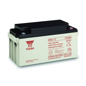 Yuasa NP65-12 Valve Regulated Lead Acid (VRLA) Battery 12V 65Ah
