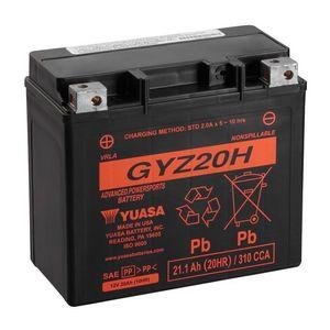 Yuasa GYZ20H Haute Performance MF Batterie De Moto