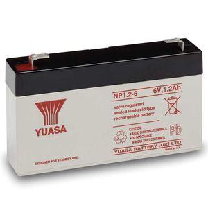 Yuasa NP1.2-6 VRLA/AGM Battery
