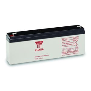 Yuasa NP2.1-12 Valve Regulated Lead Acid Battery 12V 2.1Ah