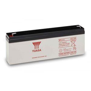 Yuasa NP2.3-12 Valve Regulated Lead Acid (VRLA) Battery 12V 2.3Ah