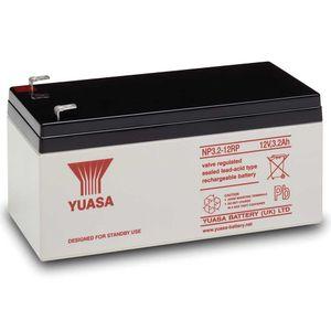 NP3.2-12 Yuasa 12V 3.2Ah Lead Acid Battery