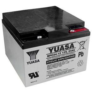 Yuasa NPC24-12 VRLA/AGM Battery