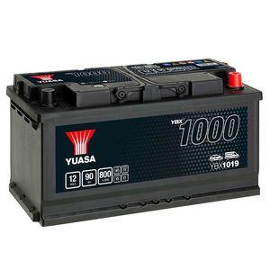 YBX1019 Yuasa CaCa Car Battery 12V 90Ah