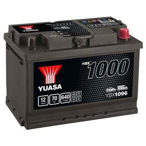 YBX1096 Yuasa CaCa Car Battery 12V 70Ah
