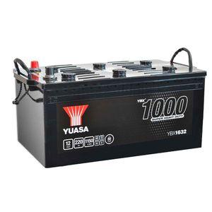 625SHD Yuasa Cargo Super Heavy Duty Battery 12V 220Ah YBX1632