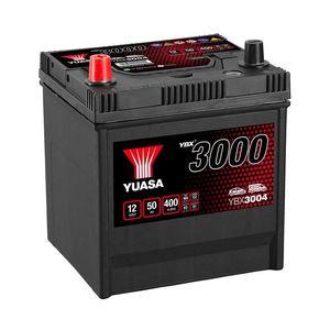 YBX3004 Yuasa SMF Car Battery 12V 50Ah
