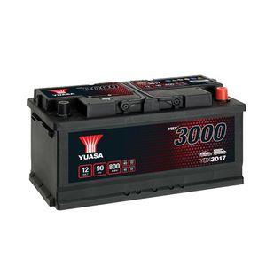 YBX3017 Yuasa SMF Car Battery 12V 90Ah