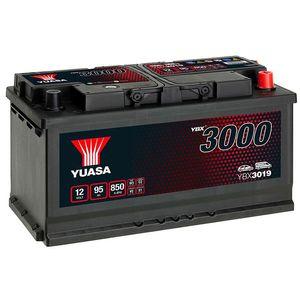 YBX3019 Yuasa SMF Car Battery 12V 95Ah