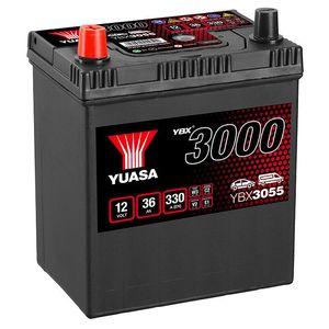 YBX3055 Yuasa SMF Car Battery 12V 36Ah