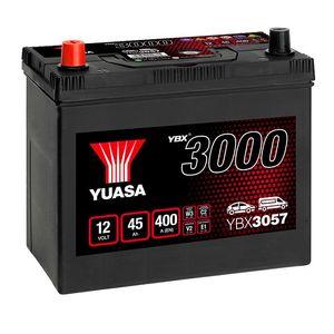 YBX3057 Yuasa SMF Car Battery 12V 45Ah