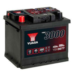 YBX3077 Yuasa SMF Car Battery 12V 45Ah
