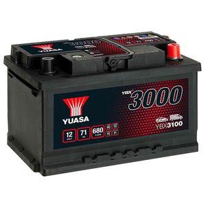 YBX3100 Yuasa SMF Car Battery 12V 71Ah