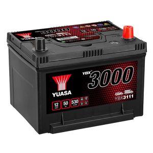 YBX3111 Yuasa SMF Car Battery 12V 50Ah