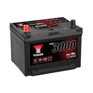 YBX3113 Yuasa SMF Car Battery 12V 50Ah