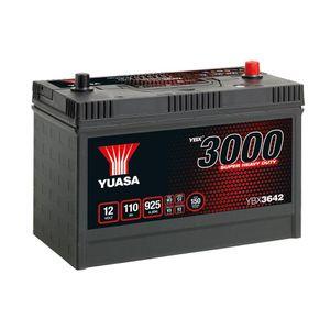 640SHD Yuasa Cargo Super Heavy Duty Battery 12V 110Ah YBX3642