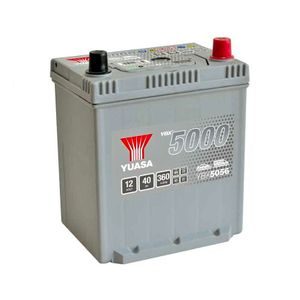 YBX5056 Yuasa Silver High Performance Car Battery 12V 40Ah