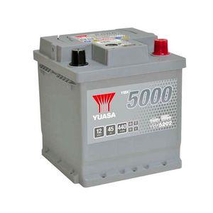 YBX5202 Yuasa Silver High Performance Car Battery 12V 45Ah