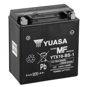 Yuasa YTX16-BS-1 MF Motorcycle Battery