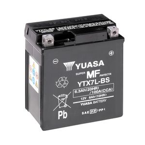 Yuasa YTX7L-BS MF Motorcycle Battery