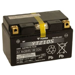 Yuasa YTZ10S High Performance MF Motorcycle Battery