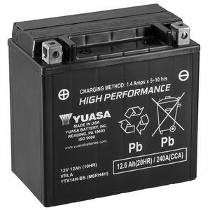 Yuasa YTX14H-BS Haute Performance MF Batterie De Moto