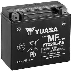 Yuasa YTX20L-BS MF Batterie De Moto