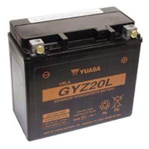 Yuasa GYZ20L High Performance MF Motorcycle Battery