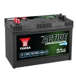 L31-EFB Yuasa Leisure Battery 12V 100Ah
