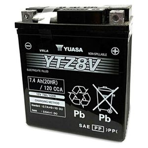 Yuasa YTZ8V High Performance MF Motorcycle Battery