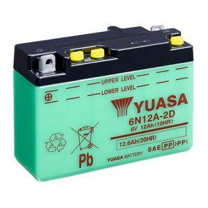 Yuasa 6N12A-2D Batterie De Moto 6V