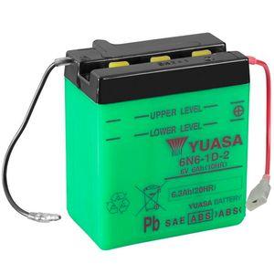 Yuasa 6N6-1D-2 Batterie De Moto 6V