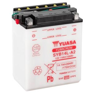 Yuasa SYB14L-A2 Motorcycle Battery