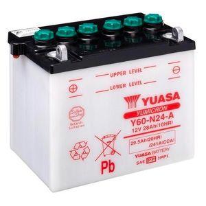 Yuasa Y60-N24-A Batterie De Moto